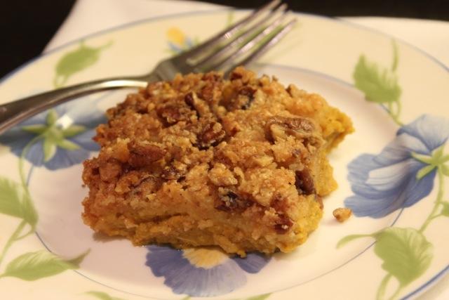 Gluten Free Pumpkin Crumble