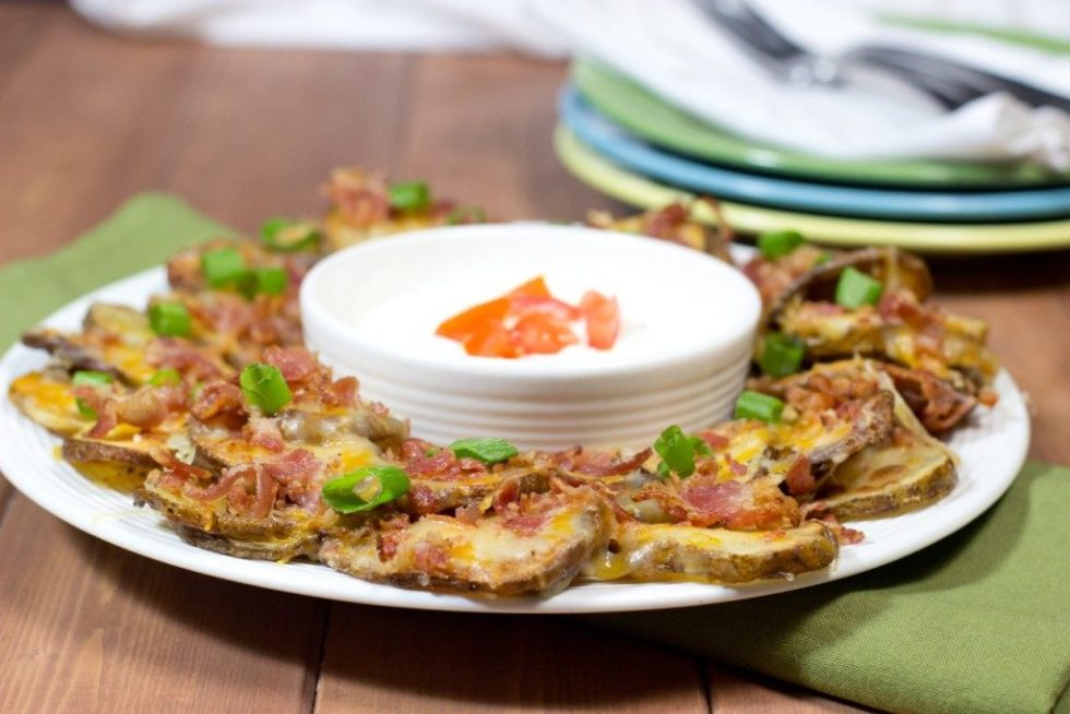 Irish Nachos   Game Day Recipe   Party Recipe   Appetizer   Gluten Free Recipe  