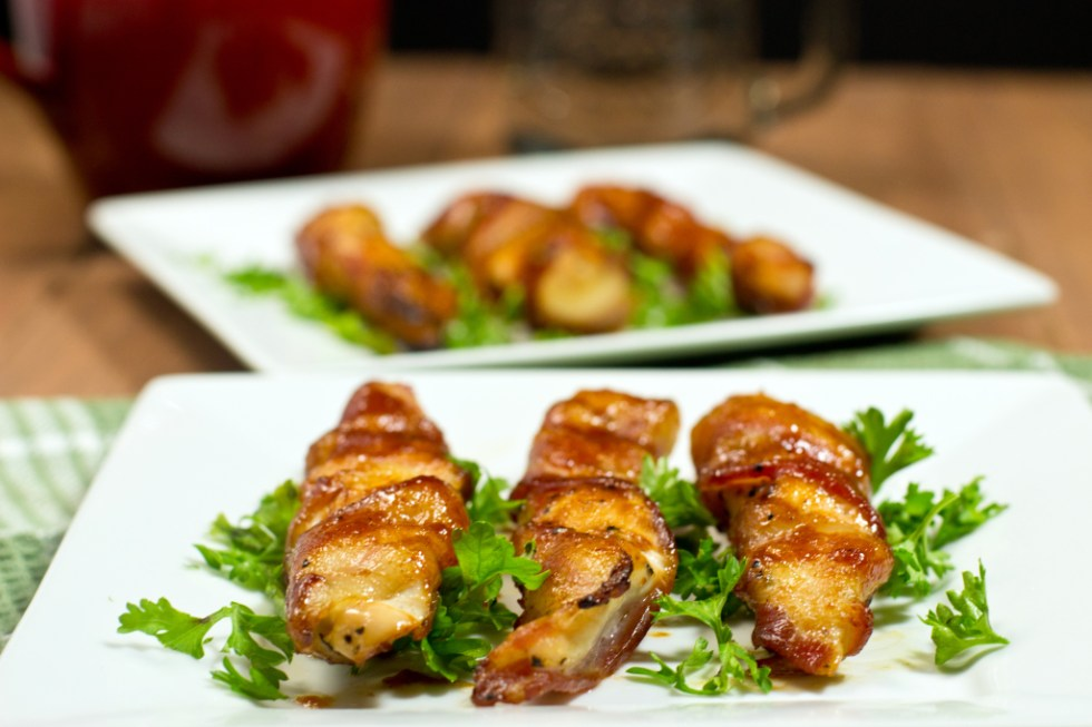 Gluten Free Bacon Wrapped Barbecue Chicken
