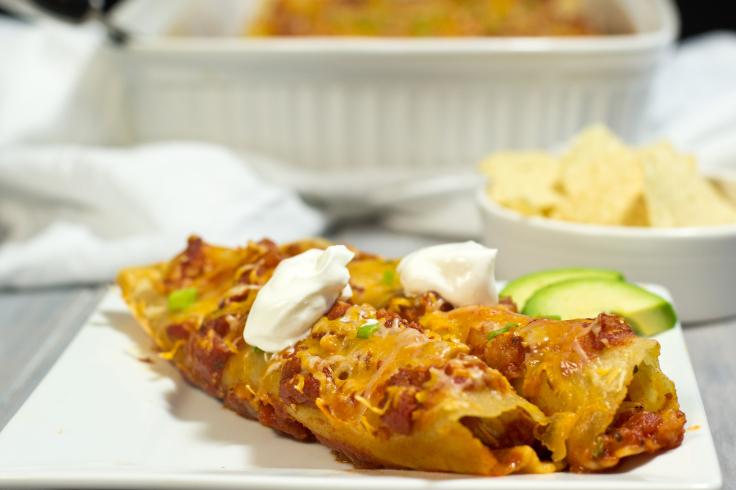 Gluten Free Chicken Enchiladas