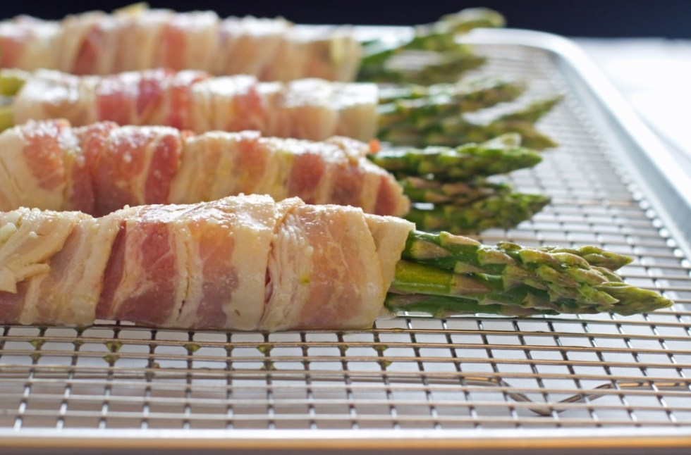 Bacon Wrapped Asparagus - The Gluten Free Homestead