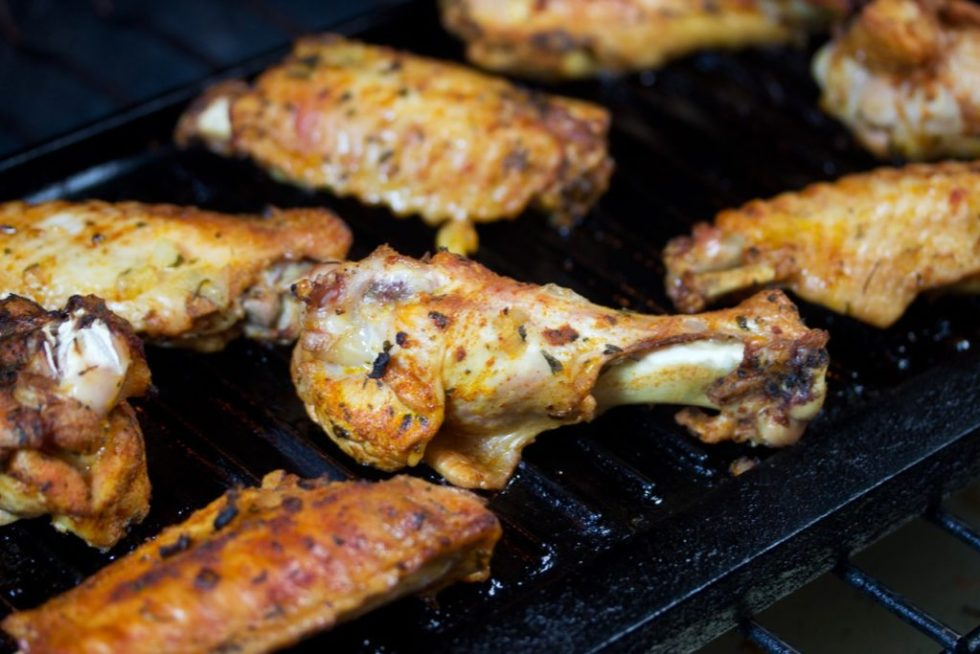 turkey wings on grill | gluten free recipe | paleo recipe