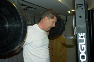 dad working out