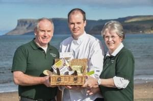 Gluten Free Ireland founders Derek and Christina Thompson with son Michael