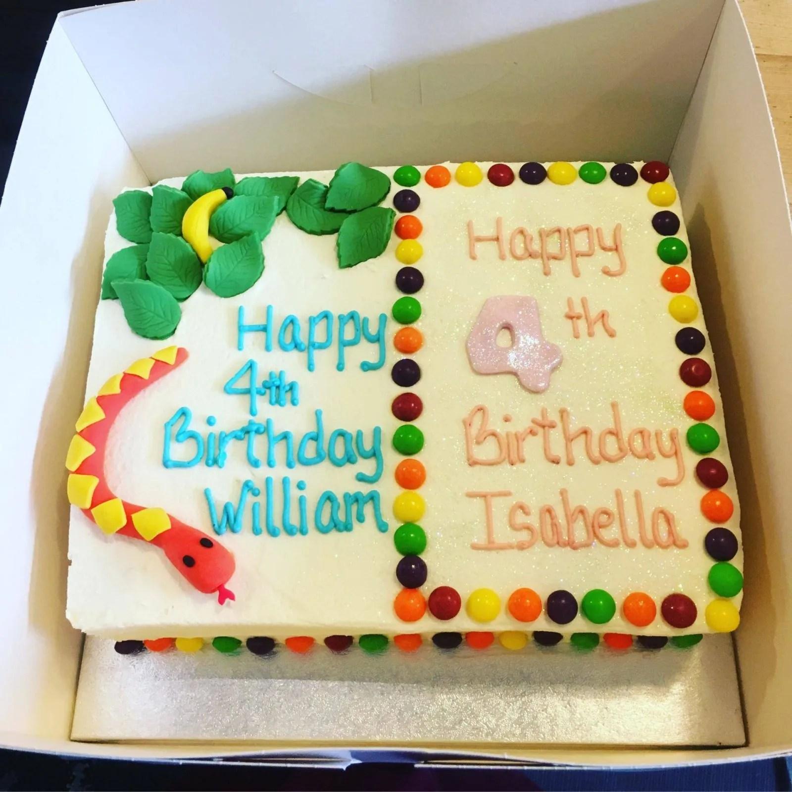 Gluten free birthday cake DeeLight
