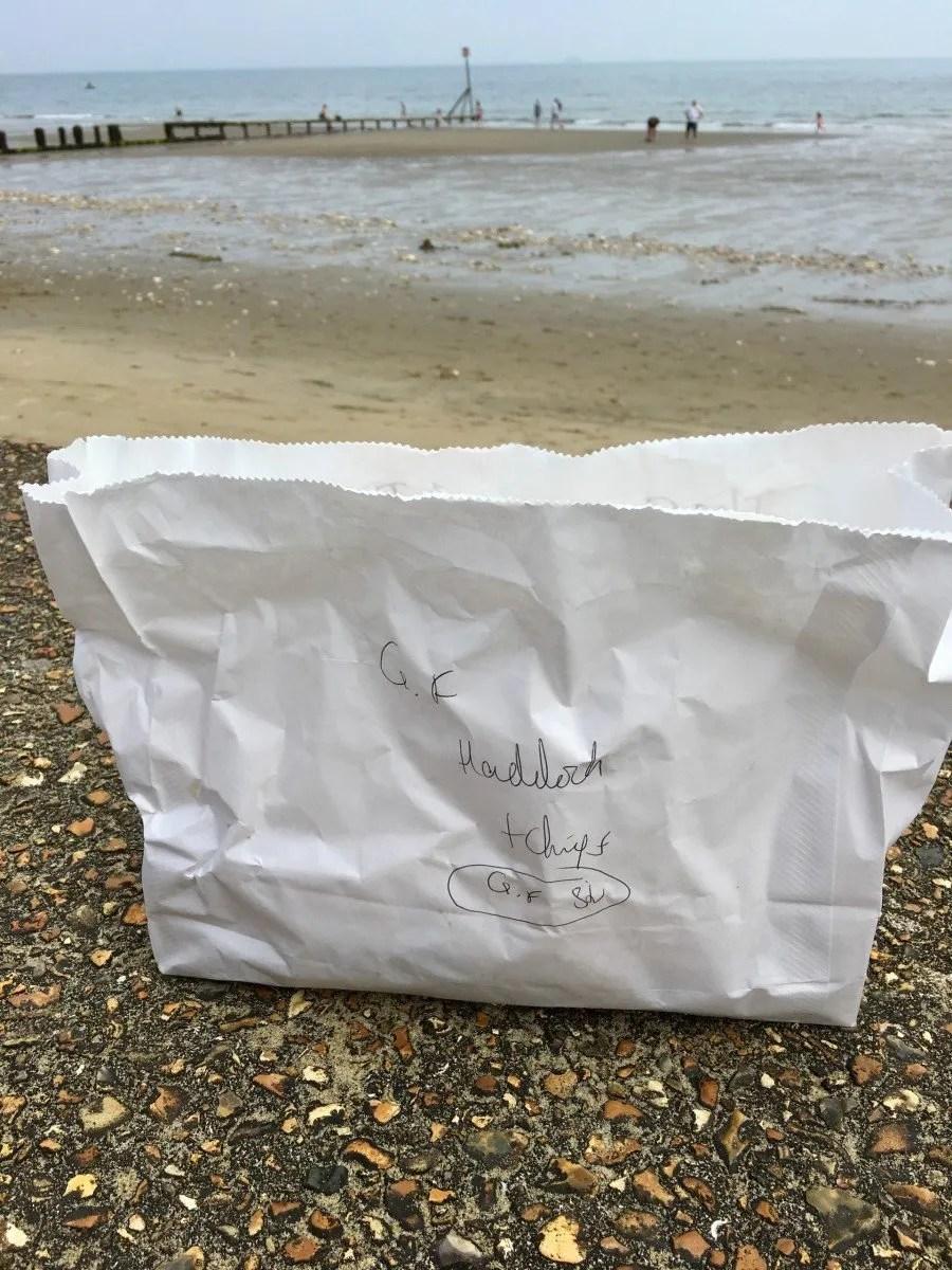 adventures of a gluten free globetrekker Gluten Free Fish & Chips: Happy Haddock, Isle of Wight Gluten Free Travel UK Isle of Wight  gluten free Isle of Wight gluten free fish and chips