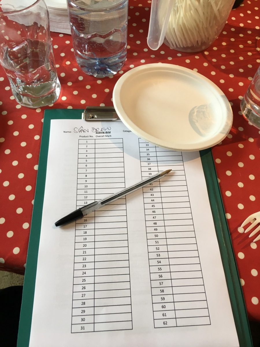 Judging at the Free From Food Awards