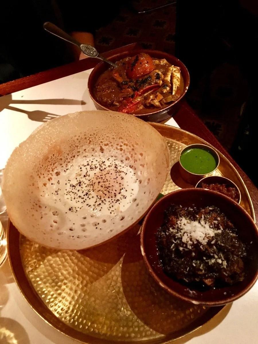 where to find gluten free Sri Lankan food in London