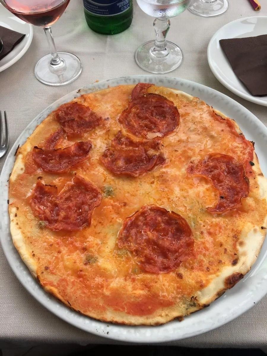 gluten free pizza in Polignano Puglia