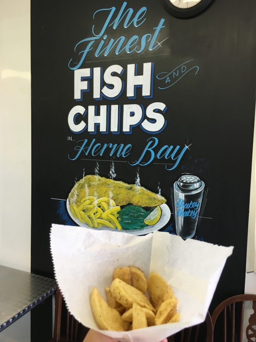 gluten free fish and chips Shakey Shakey
