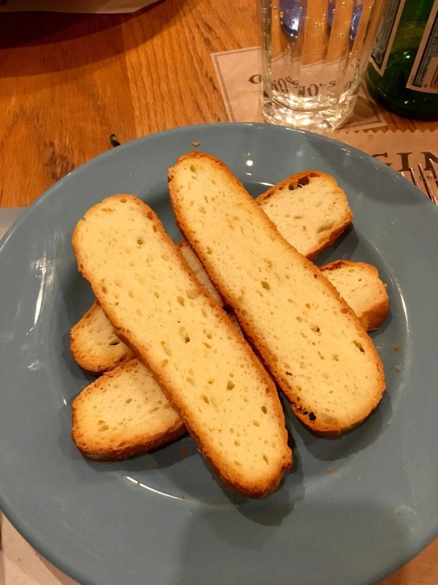 Gluten free Spain, Gino's