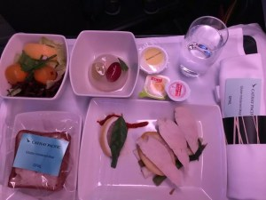 adventures of a gluten free globetrekker gluten free Cathay Pacific Business Class