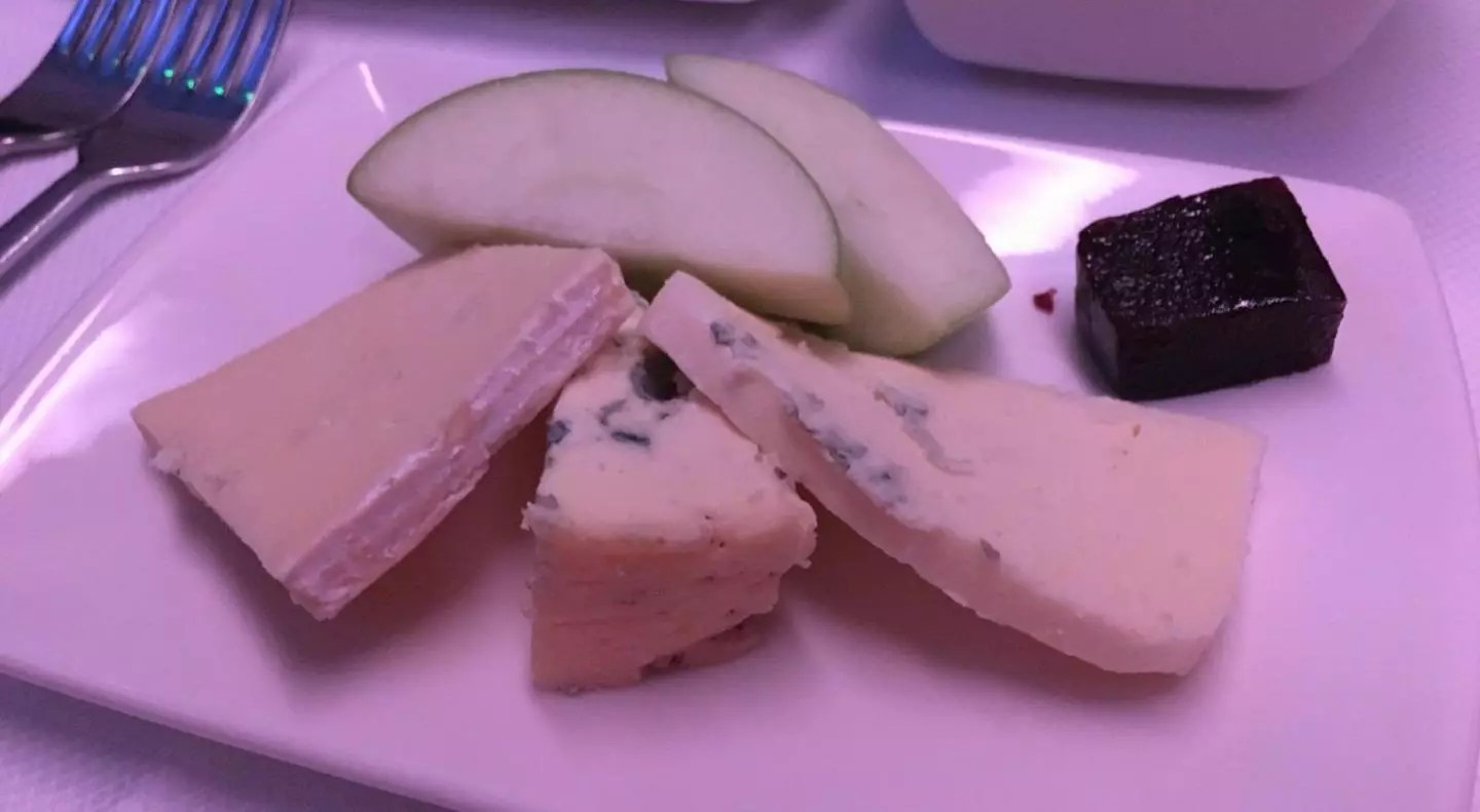 gluten free Cathay Pacific Business Class