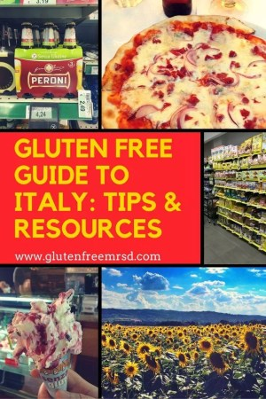 adventures of a gluten free globetrekker Gluten Free Guide To Italy