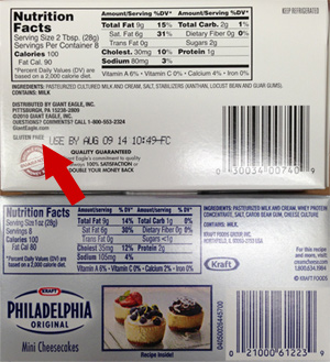 Kraft Philadelphia Light Cream Cheese Nutrition Facts ...