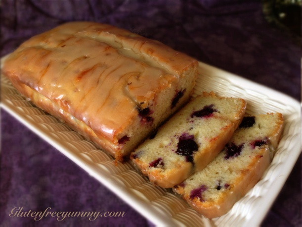 Gluten-free Lemon-Blueberry Loaf