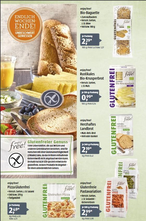Aldi glutenfrei