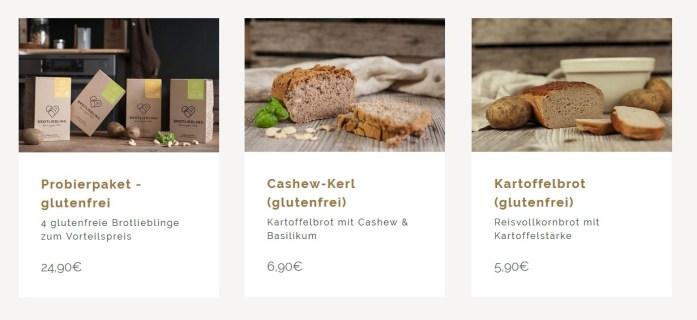 Brotliebling - glutenfreie Brotbackmischung