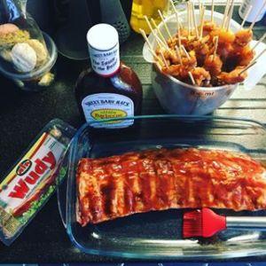 Glutenvrije Barbecue Tips