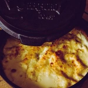 Gemüse Lasagne aus dem Dutch Oven
