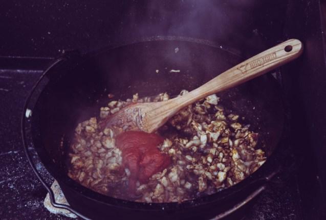 Pollo Fino mit Tomatenmark