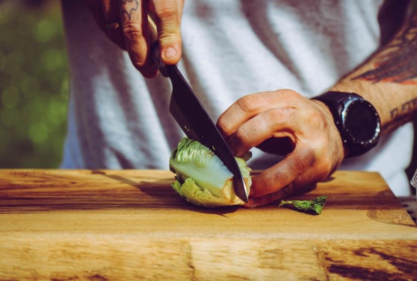 Salatherzen oder Römersalat