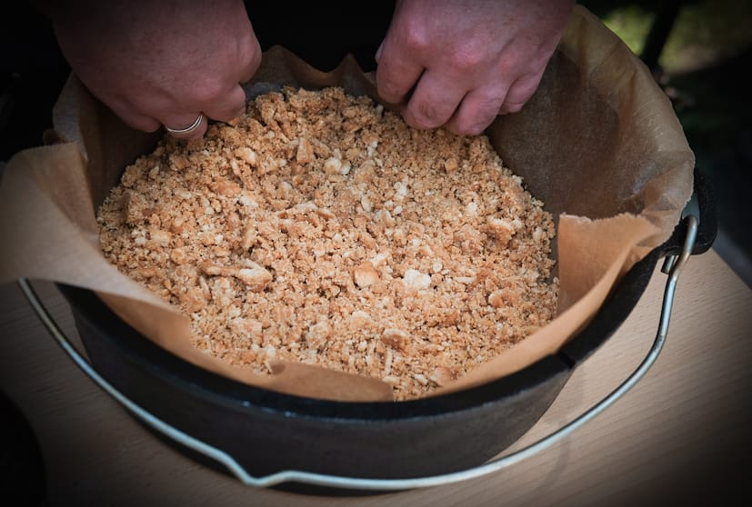 Keksboden im Dutch Oven