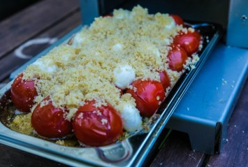 Tomaten mit Parmesankruste