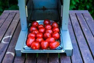 Tomaten zum garen im Beefer