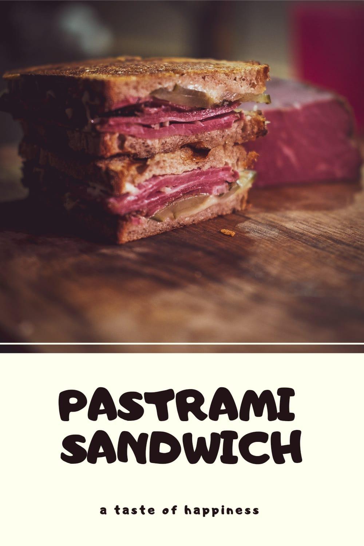 Gluthelden Pastrami Sandwich