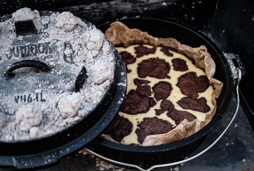 Russischer Zupfkuchen aus dem Dutch Oven