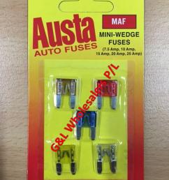 austa mini wedge blade fuse mixed 5pce 7 5amp 10amp 15amp 20amp 25amp 10pk box [ 793 x 1057 Pixel ]