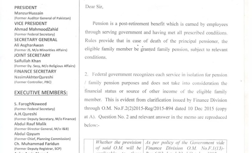 Child of the deceased pensioner parents is eligible to two pensions simultaneously