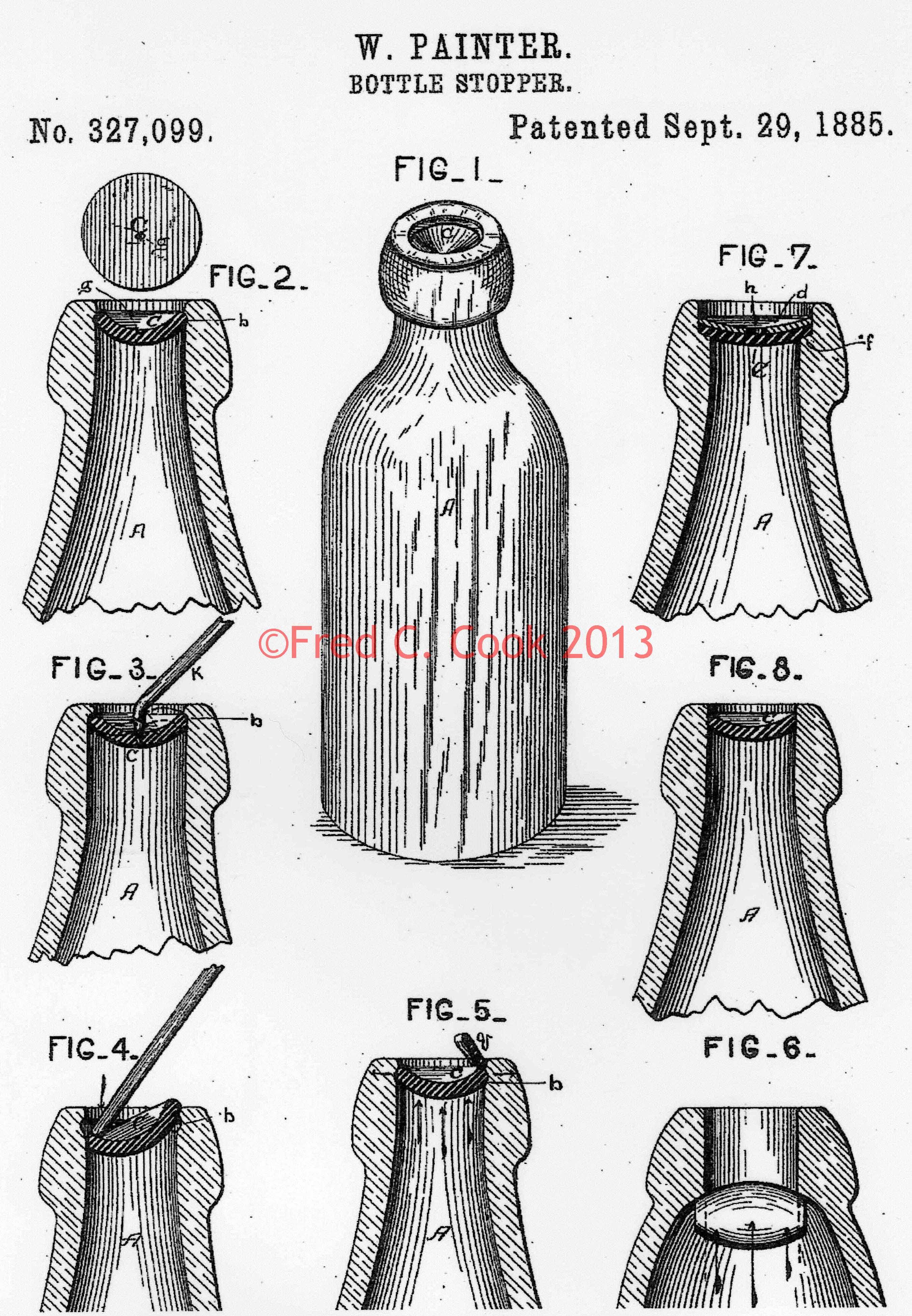 William Painter S Patent For The Baltimore Loop