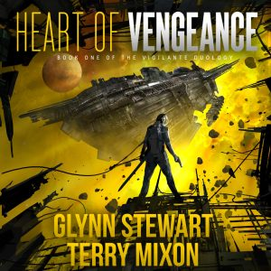 The audiobook for Heart of Vengeance is out now!