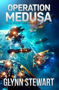Operation Medusa, book 6 in the Castle Federation series, is out now!