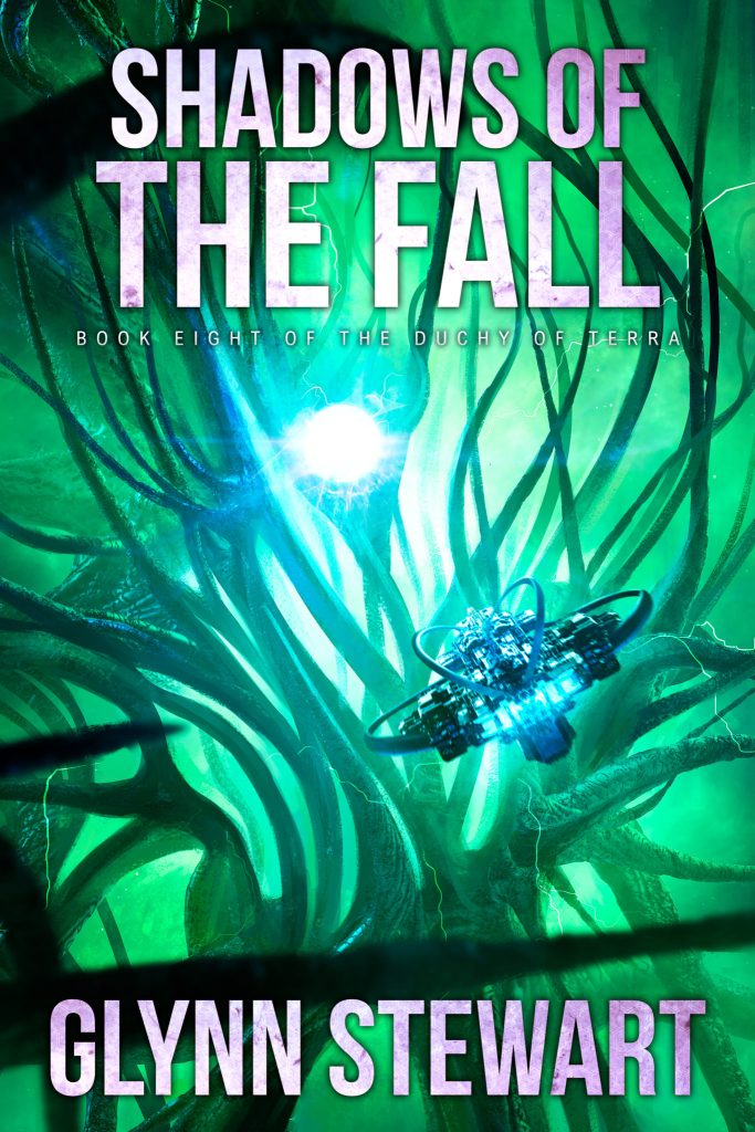Book cover for Shadows of the Fall (Duchy of Terra book 8) by Glynn Stewart