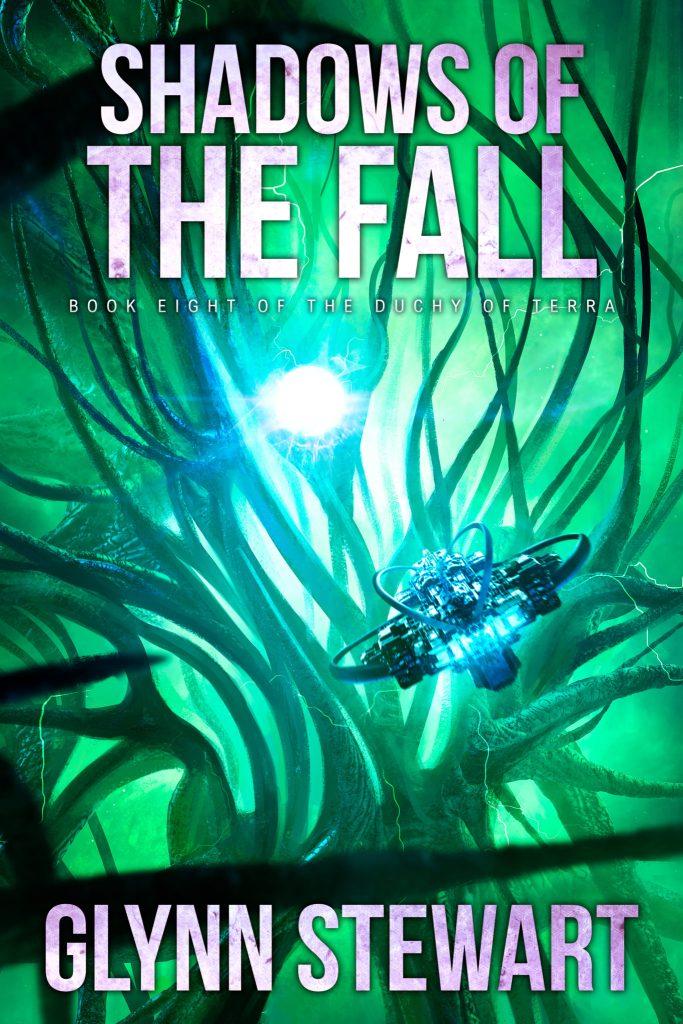 Book cover for Shadows of the Fall (Duchy of Terra book 8) by Glynn Stewart