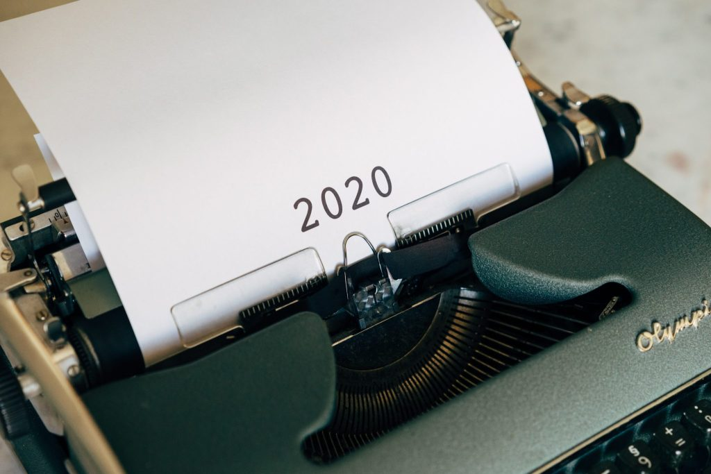 a typewriter with