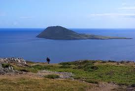 Bardsey Island from Uwch Mynydd
