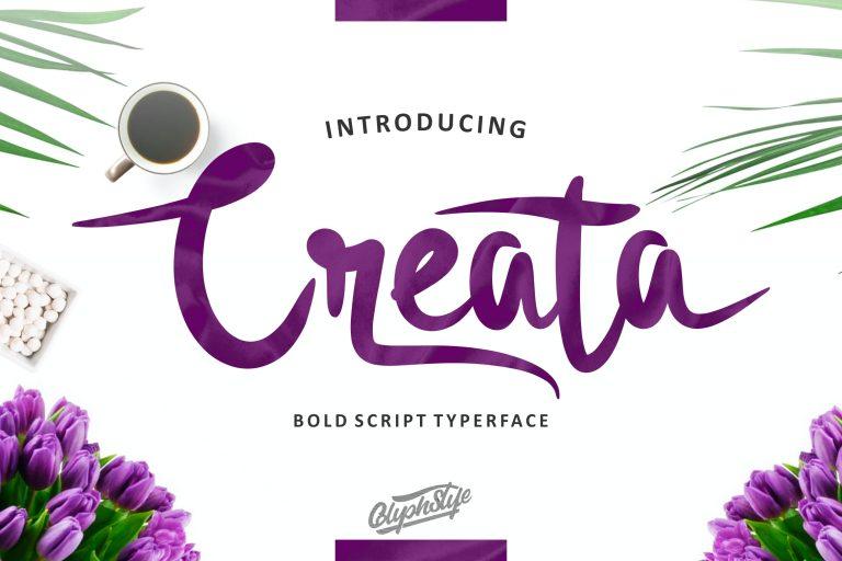 Preview image of Creata Bold Script
