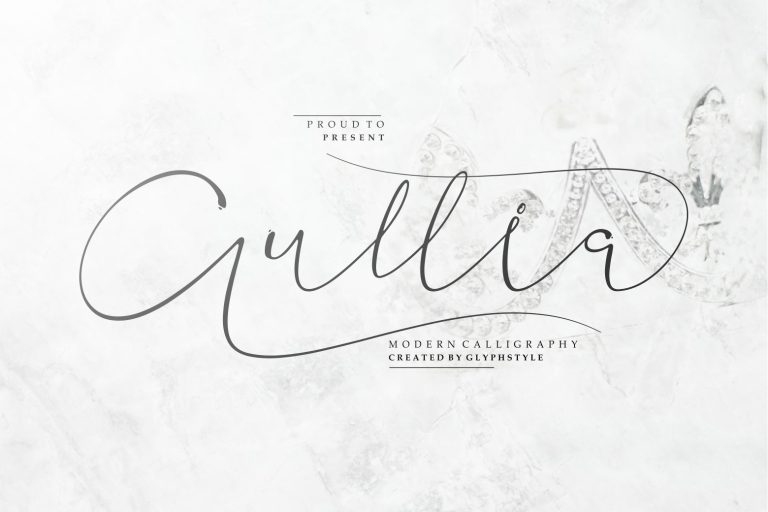 Preview image of Aullia Modern Calligraphy