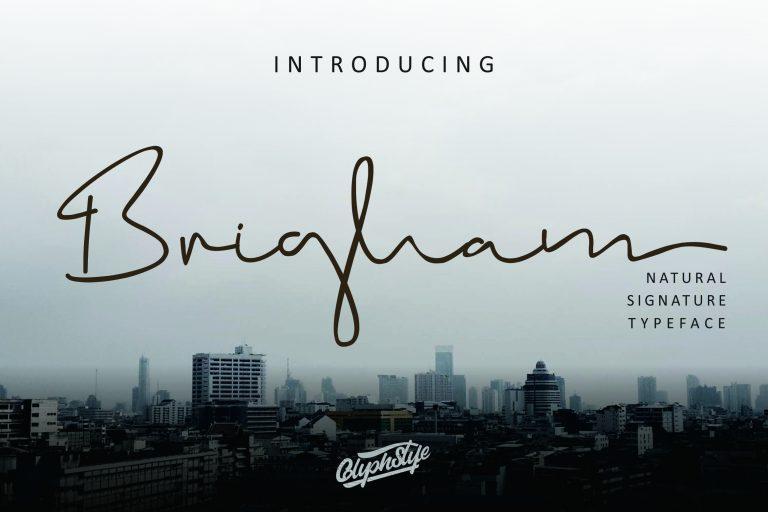 Preview image of Brigham Signature Script