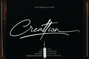 Creattion Ink Stylish Signature