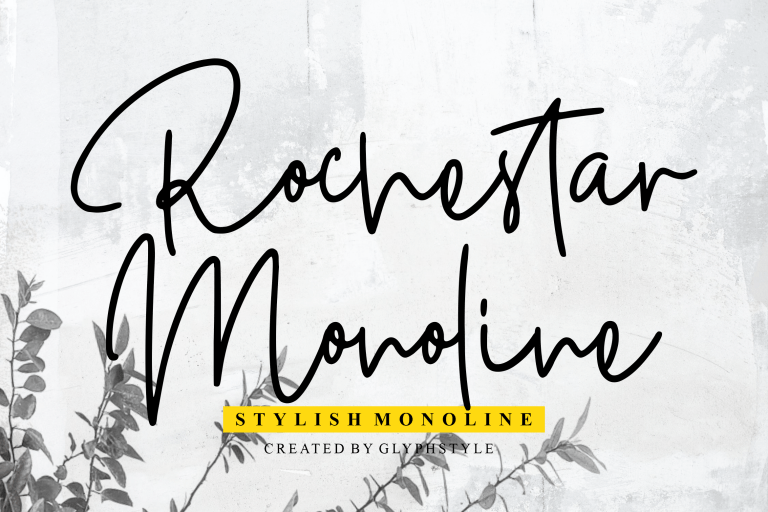 Preview image of Rochestar Stylish Monoline