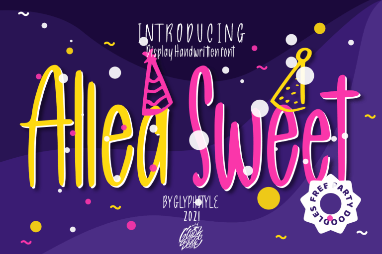 Preview image of Allea Sweet Display Handwritten