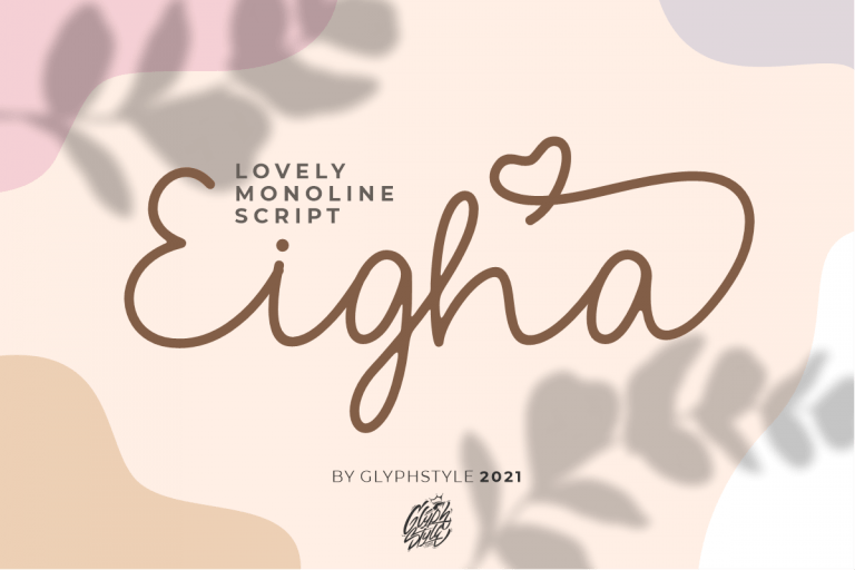 Preview image of Eigha Lovely Script