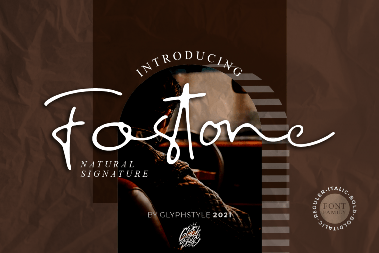Preview image of Fostone Natural Signature