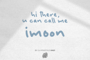 imoon handwritten