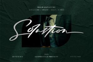 Solustion Bold Signature